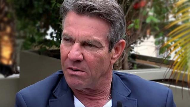 After years of remaining silent, Dennis Quaid finally admits