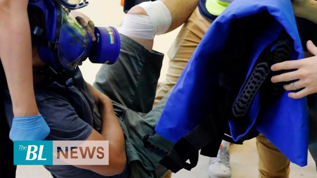 Underground medic network treat injured Hong Kong protesters