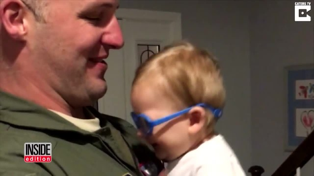 His Son Just Saw Him For The First Time. This Soldier's Reaction Is So Touching!