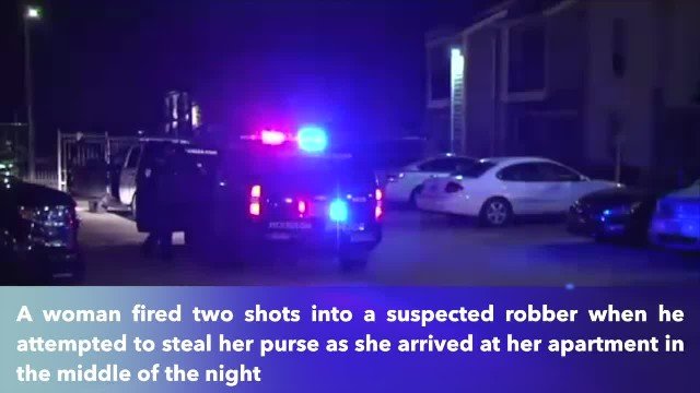 Woman opens fire on man who tried to steal purse in SW Houston