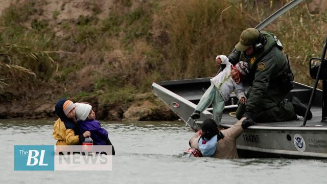 US Border Patrol rescues disabled Illegal immigrants thrown into river