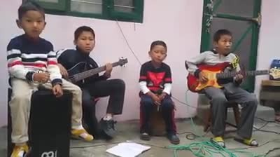 """ Four Brothers performs a heartfelt rendition of Passenger's ""Let Her Go"" and it is overloaded with"