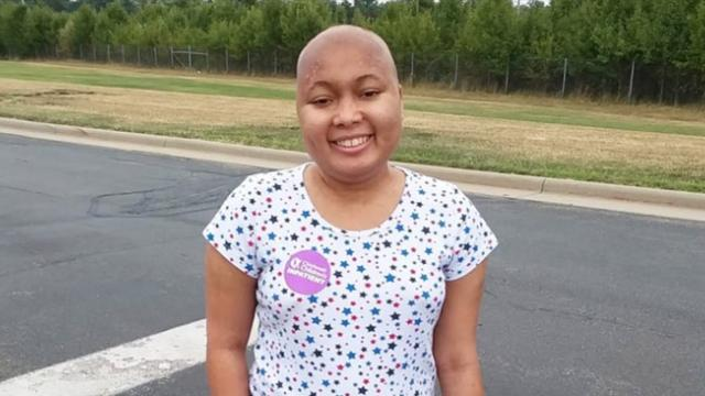 16-year-old girl finished the last chemotherapy after 8-month fight against stage-4 brain cancer