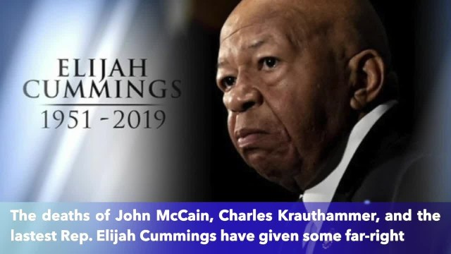 Christian radio said God killed Elijah Cummings for 'messing' with President Trump