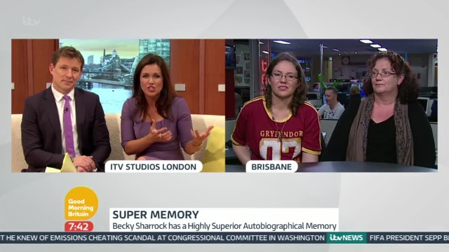 Woman Remembers Harry Potter Novels Word For Word   Good Morning Britain