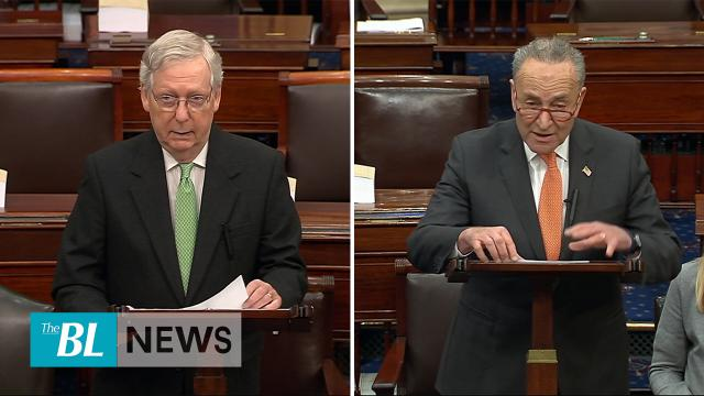 McConnell shuts down Schumer's request for new witnesses
