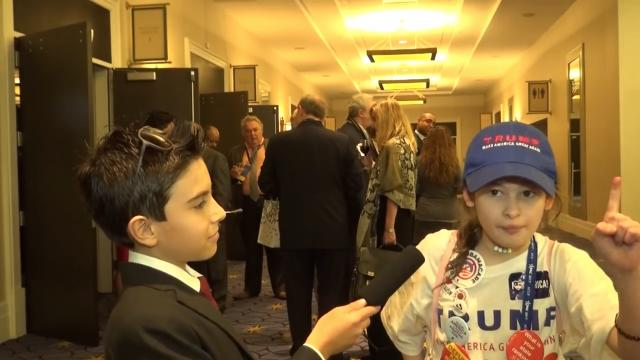 What an 11-year-old say about President Donald J. Trump?