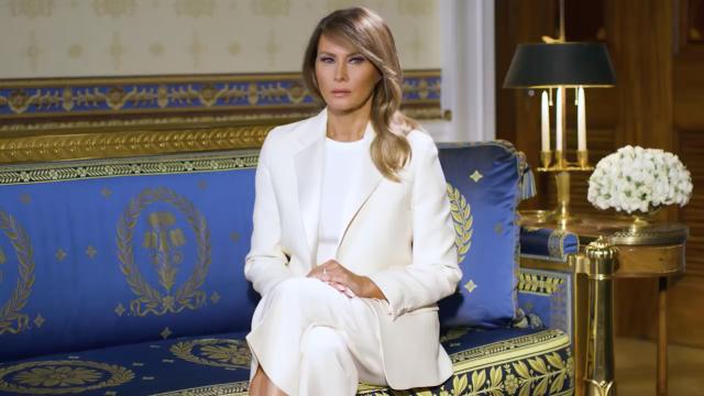 First Lady Melania Trump's national day of prayer message