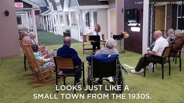 This Assisted Living Facility Looks Like a Small Town From the 1930s