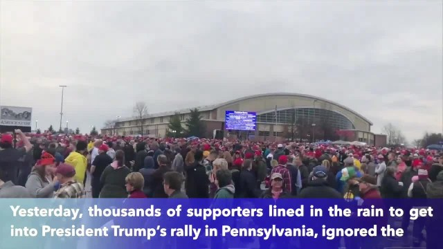 Trump supporters at Pa. rally 'very upset' after Democrats release impeachment articles