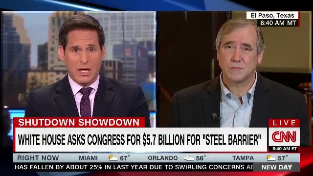 Sen. Jeff Merkley States That  Some Barriers Are Useful  On The Border
