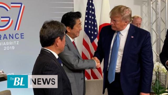 President Trump talks about 'billion-dollar' deal he clinches with Japan