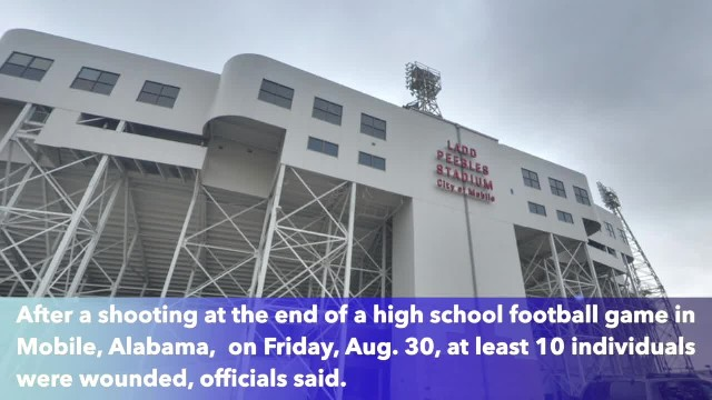 At least 10 people injured after shooting at Alabama high school football game