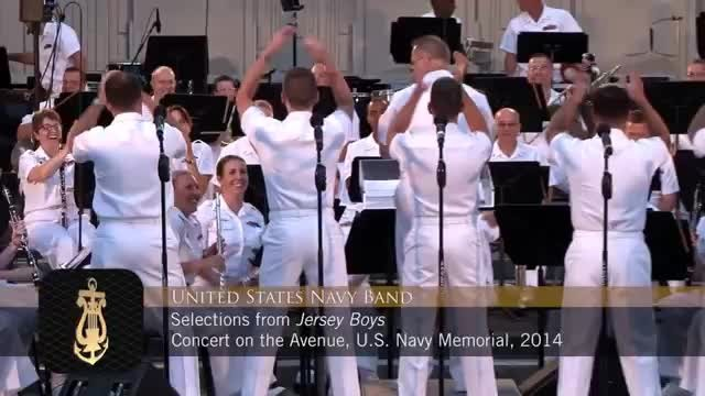 5 Navy Sailors Take The Stage With Their Backs To The Audience. When They Turn Around? SPECTACULAR!