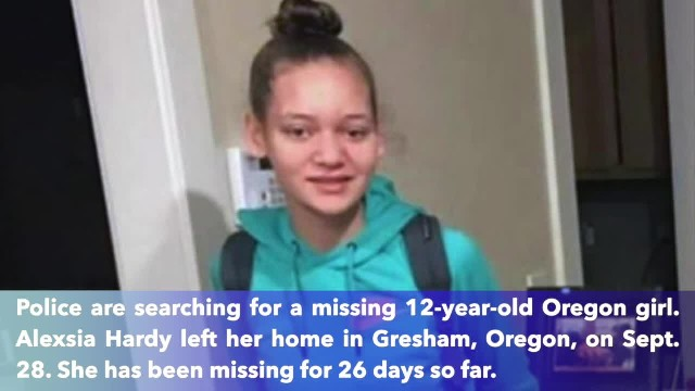 12-year-old Oregon girl missing, family pleads for help