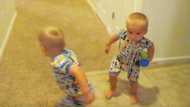 Mom simply said 'go to bed' but twins' comeback caught even her off guard