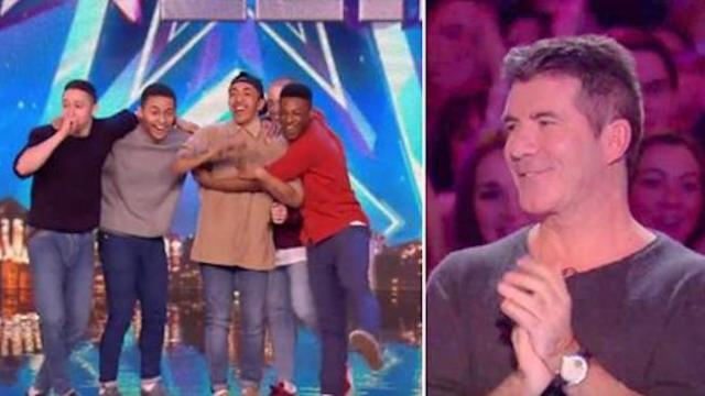 """A rare """"golden buzzer"""" was hit, as the crowd and judges were completely stunned."""