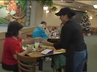 Old man always berated kind waitress. When he dies she learns how he really felt.