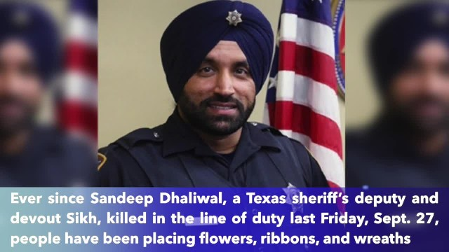 First Sikh officer Sandeep Dhaliwal killed. Papa John's extends promotion to raise money for his fam