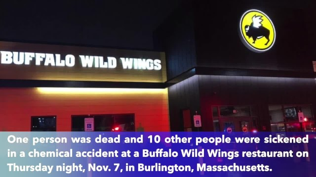1 dead, 10 others in the hospital after chemical accident at Buffalo Wild Wings in Massachusetts