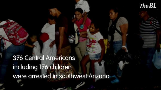 Border Patrol arrests group of 376 in Arizona desert