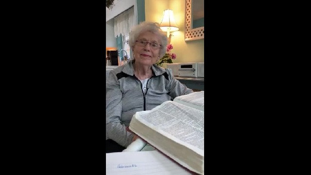 Elderly Woman Tells Us Exactly Why We Need To Pray & Stop Limiting God