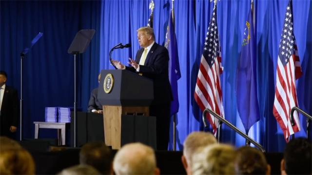 President Trump attends hope for prisoners graduation