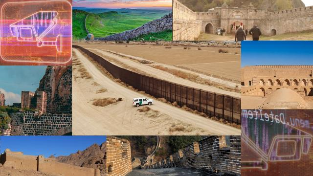 Border walls have a long tradition