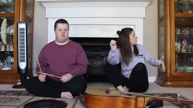 """Sister starts singing """"Jolene"""" but when brother joins in he completely steals the show"""