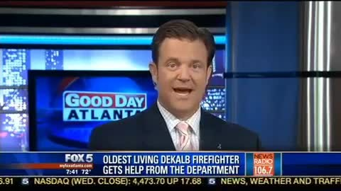 Elderly man keeps calling for help but only when firemen arrive do they realize he's one of them