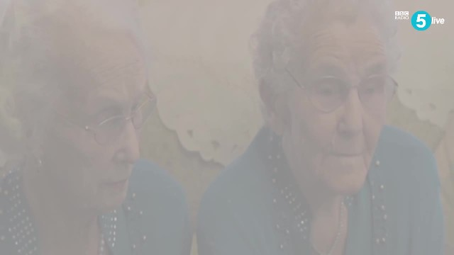 100-year-old twins celebrate with roast