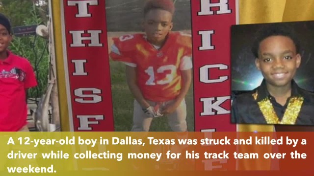Dallas 12-year-old killed while asking for donations