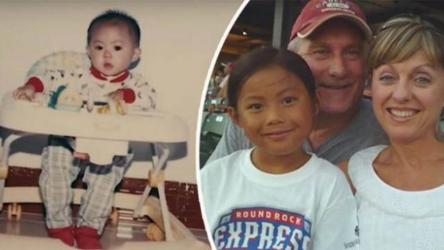 This baby girl was abandoned at a train station in China. 13 years later, she became a superstar in