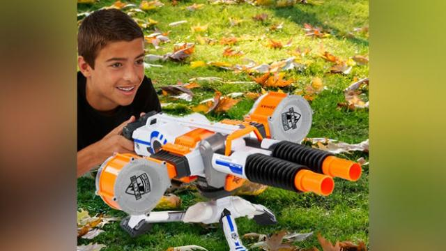 'How does promoting play with huge automatic weapons create joy?' Consumer group calls on Hasbro to