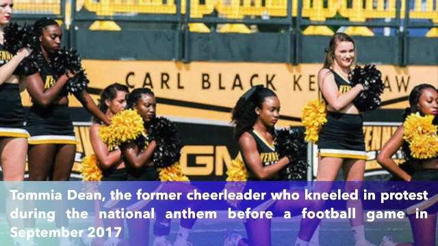 Kennesaw State University pays cheerleader who kneeled in protest during national anthem $145K in se