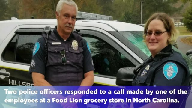 Woman caught stealing food, but when North Carolina officer sees 3 starving children, knows he can't