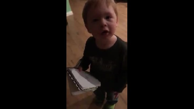 Adorable Southern Boy Makes His Grocery List & It Is The Cutest Thing You'll Watch All Day.