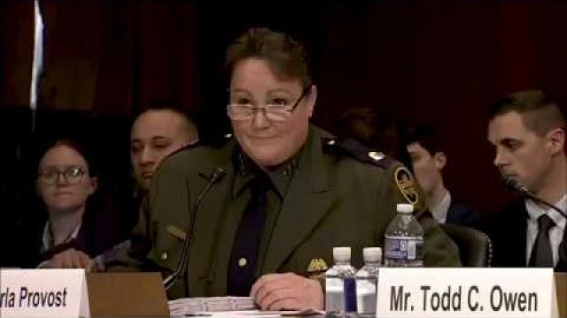 U.S. Border Patrol Chief Carla Provost Testifies About the Border Crisis