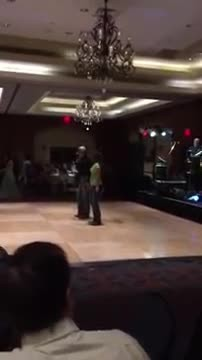 "Dancing deejay clears dance floor with epic ""Footloose"" performance"