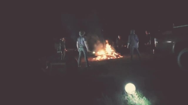 6 Men Circle A Campfire And Start Singing. Seconds Later, I'm Covered In Goosebumps!