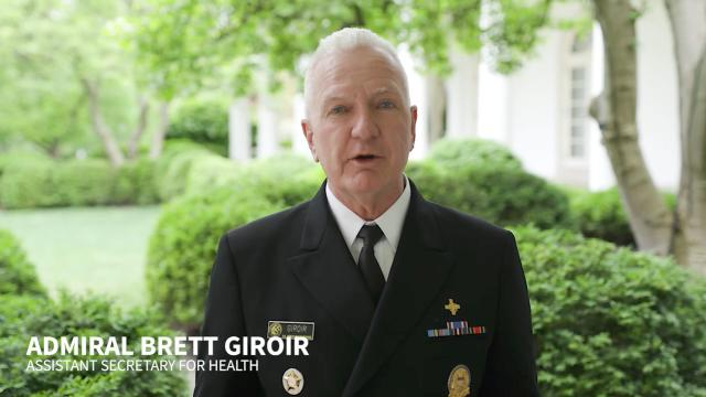Admiral Giroir: Safely reopening America's economy is what the doctor ordered