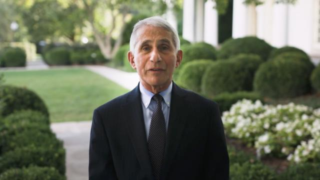 Dr. Anthony Fauci's message for flu season