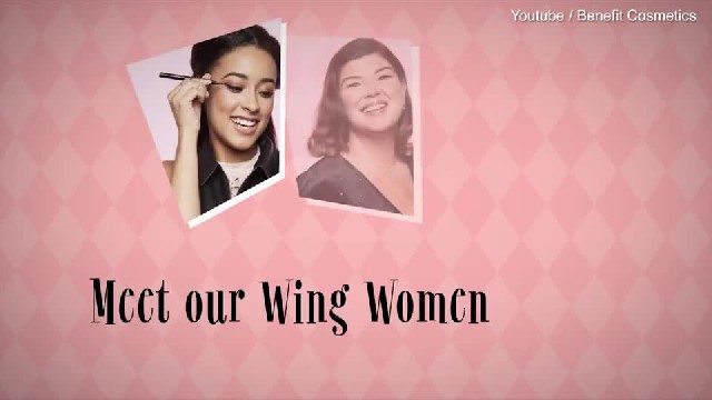 'Wing Women' introduce Benefit Cosmetic's NEW Roller liner