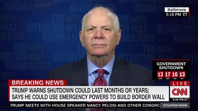 Sen. Cardin on Border Security  Certainly You Need Barriers and We Support Barriers