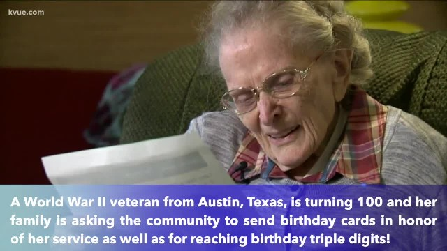 Texas World War II nurse turns 100th birthday