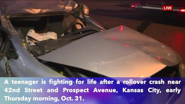 Missouri teen fighting for life after roll over crash on the way to school