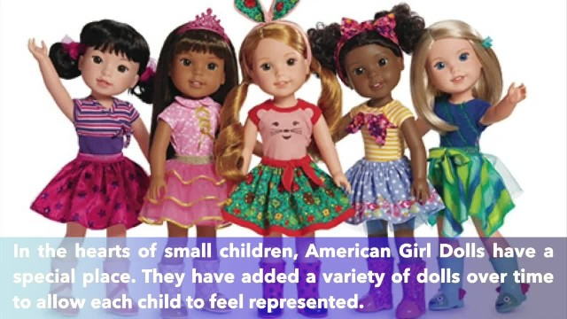 4-year-old model with Down's syndrome features in American Girl catalog