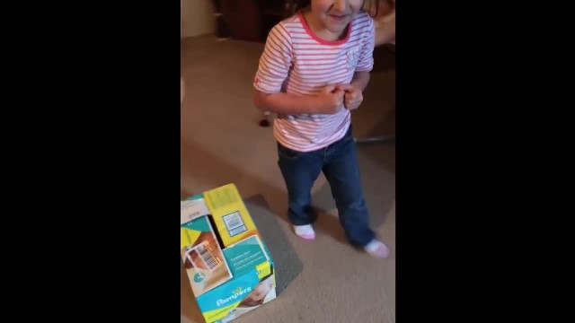 Little Girl Thinks New Puppy is a Hamster