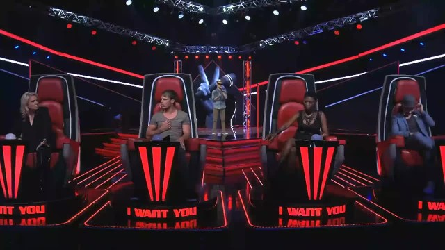"Blind singer brings all three judges to tears on ""The Voice"""