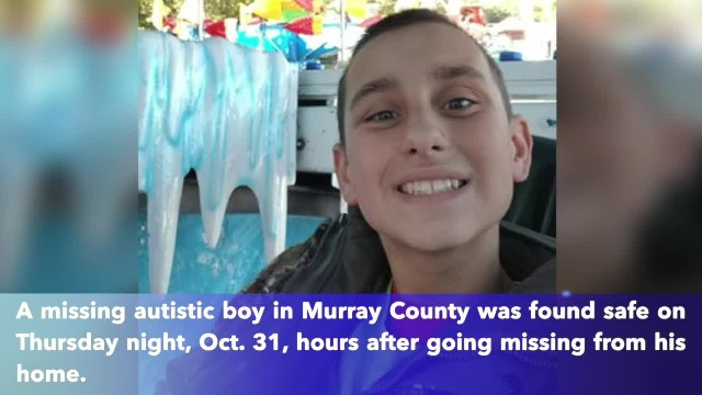 Missing 12-year-old autistic boy found safe in Chatsworth, Georgia
